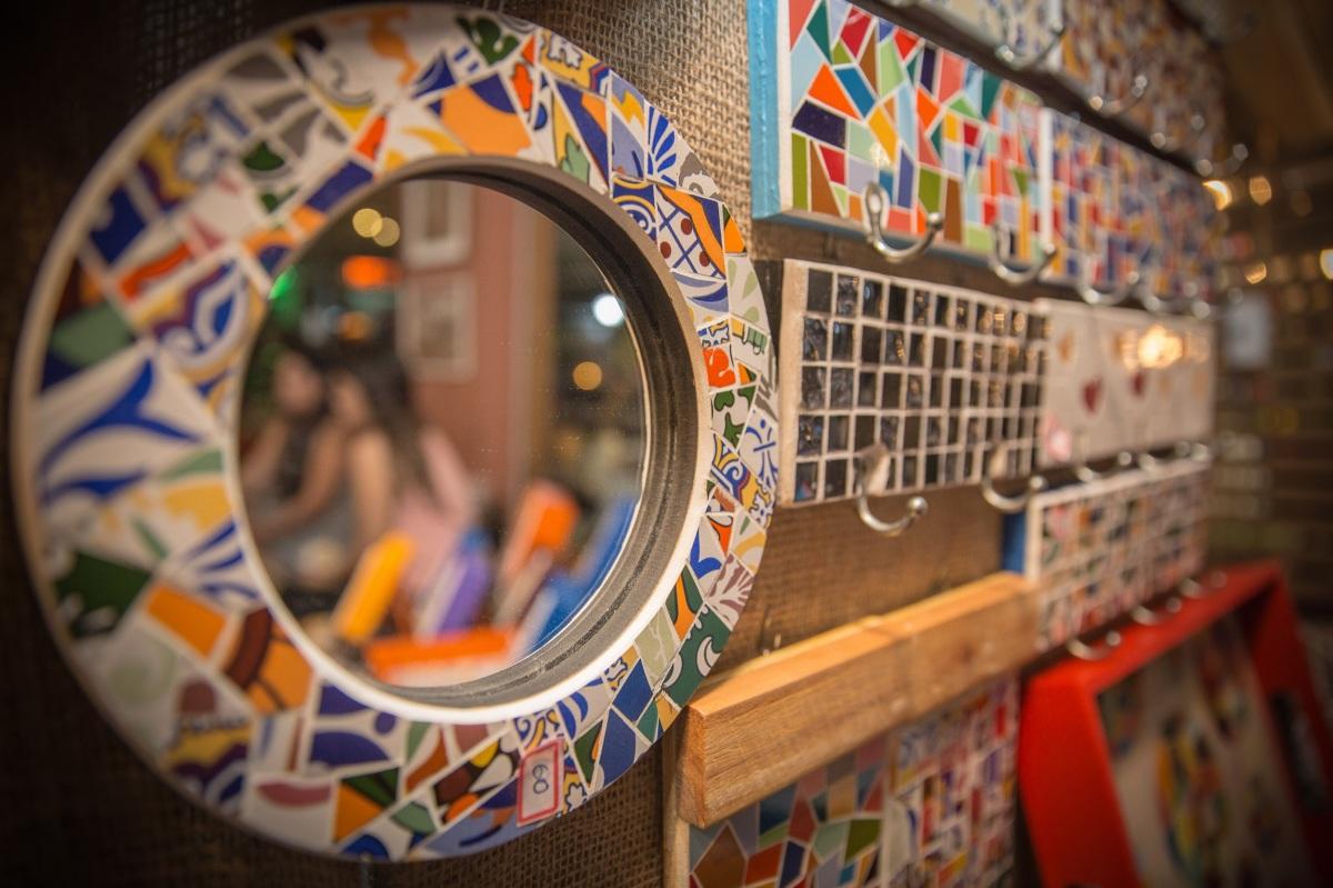 Conexão Chile > Brasil: mosaicos únicos em estilo livre com a FreeDesign